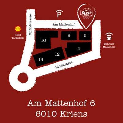 Mattenhof-Karte